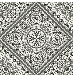 Wallpaper in the style of Baroque seamless vector image