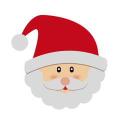 Santa claus icon vector
