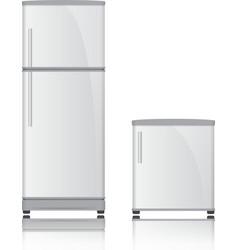 3D Refrigerator vector image vector image
