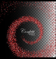 Decoration confetti element for design vector