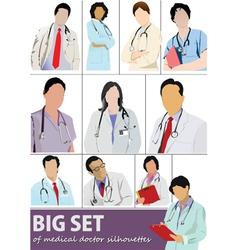 doctor set vector image