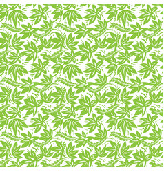 Ethnic green pattern vector