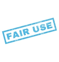 Fair use rubber stamp vector