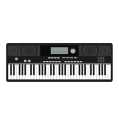 Synthesizer isolated icon design vector