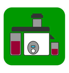 the juicer icon vector image vector image