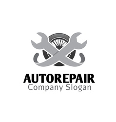 Auto repair design vector