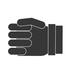 Gesture with fingers icon hand design vector