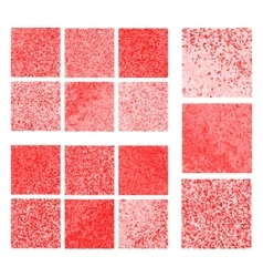 Abstract red background set vector