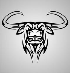 Buffalo tribal vector