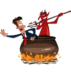hell vector image vector image