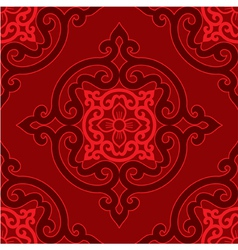 oriental seamless tile vector image vector image