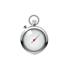 stop watch realistic vector image