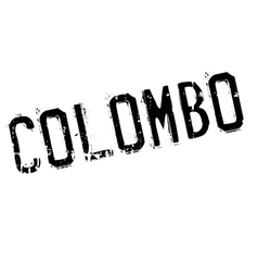 Colombo stamp rubber grunge vector image