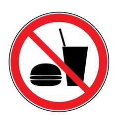 No food and drink vector