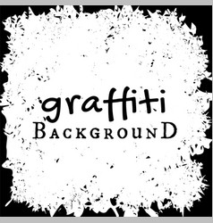 graffiti wall background fashion texture vector image