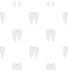 tooth pattern seamless vector image