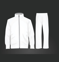 Tracksuit vector
