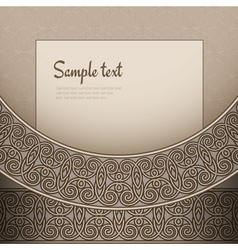 Vintage bronze background vector image