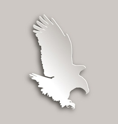 Bold eagle vector