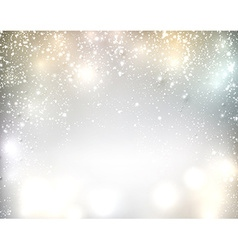 Christmas silver abstract background vector