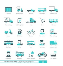 Transport set 02 vector
