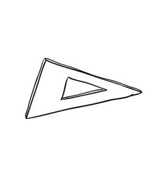 Ruler icon instrument design graphic vector