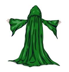 A wizard or a monk vector