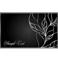 abstract greeting card vector image vector image