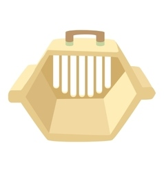 Carrying animals icon cartoon style vector