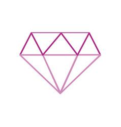 Color line beauty luxury diamond gen accessory vector