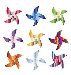 Pinwheels vector