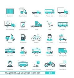Transport Set 02 vector image vector image