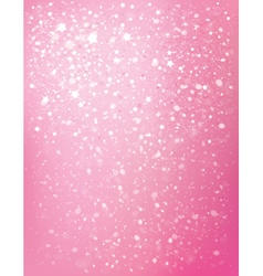 Pink star background vector