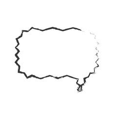 Skecth bubble speech dialog vector