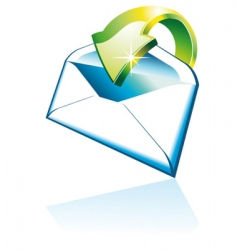 3d email icon vector