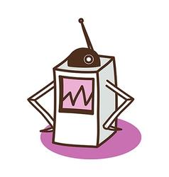 An antenna vector image vector image