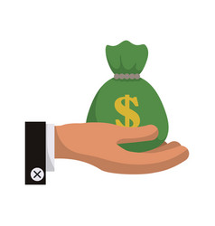 bank and money vector image vector image
