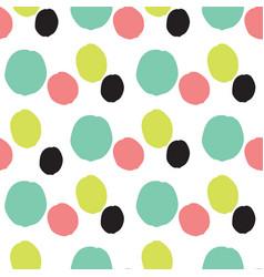 Modern colorful geometric pattern vector