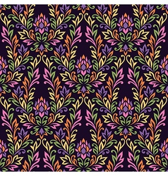 pattern ornament flower vector image vector image