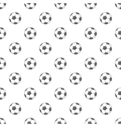 Soccer ball pattern cartoon style vector