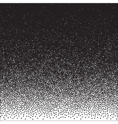 Halftone Dotwork Style Monochrome Gradient vector image