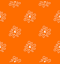 Amoeba pattern seamless vector