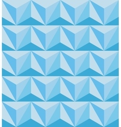 Geometric abstract seamless pattern polygonal 3d vector
