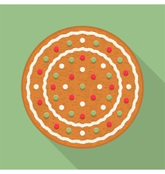 Gingerbread Circle vector image vector image