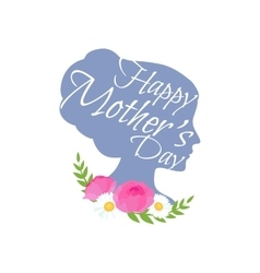 greeting cart Happy Mothers Day vector image vector image