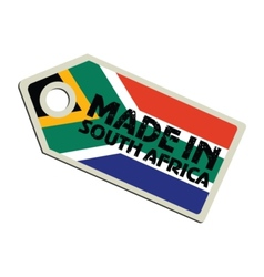 Made in south africa vector