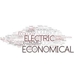 Economical word cloud concept vector
