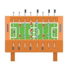 Table soccer pixel art  kicker vector