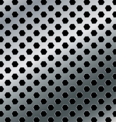 Aluminium background metal abstract background vector image vector image