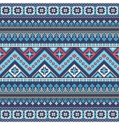 Aztec pixel seamless pattern ideal for printing vector